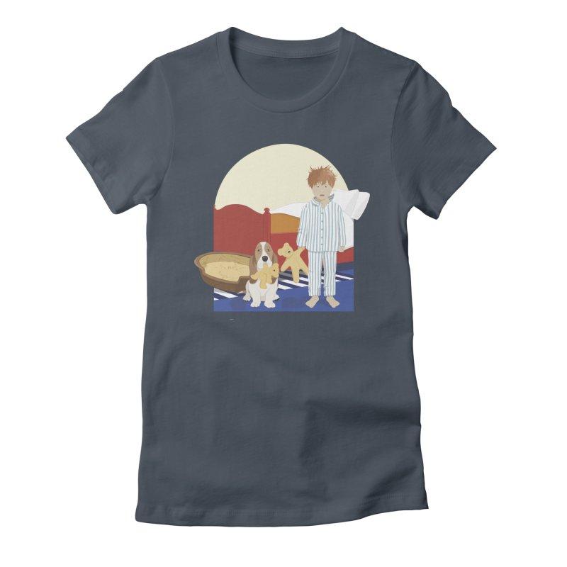 Time For Bed Women's T-Shirt by grumpyteds's Artist Shop