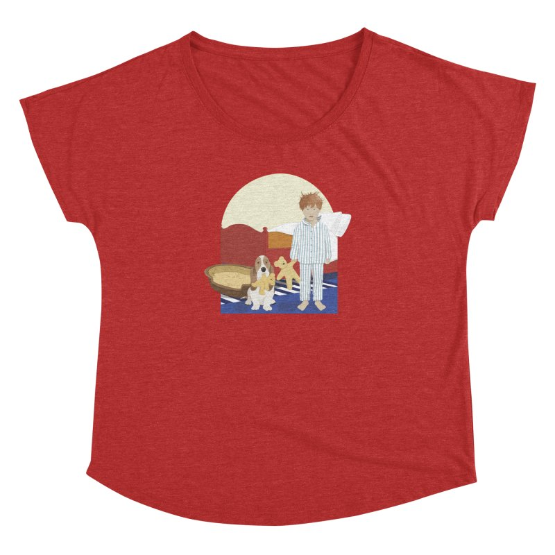 Time For Bed Women's Dolman Scoop Neck by grumpyteds's Artist Shop