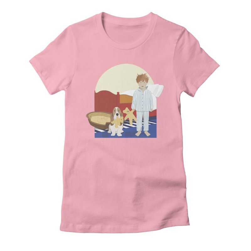 Time For Bed Women's Fitted T-Shirt by grumpyteds's Artist Shop