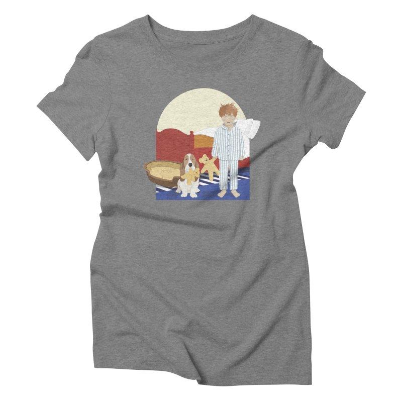 Time For Bed Women's Triblend T-Shirt by grumpyteds's Artist Shop
