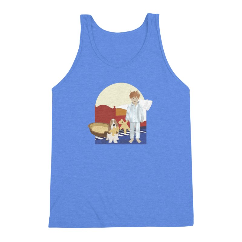 Time For Bed Men's Triblend Tank by grumpyteds's Artist Shop