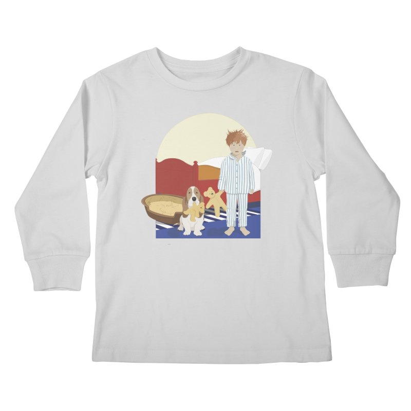Time For Bed Kids Longsleeve T-Shirt by grumpyteds's Artist Shop