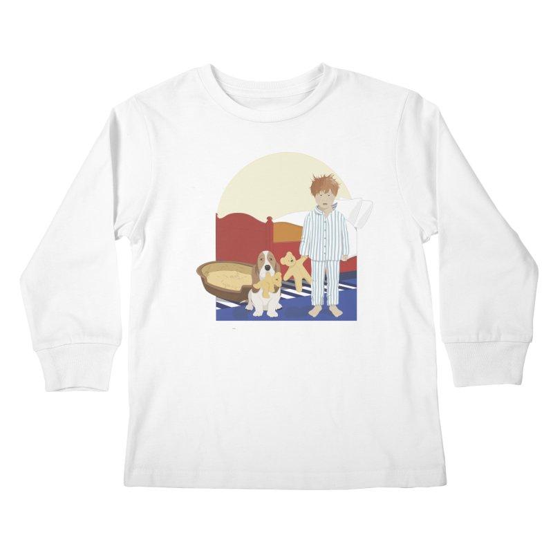 Time For Bed Kids Longsleeve T-Shirt by grumpyteds's Artist Shop