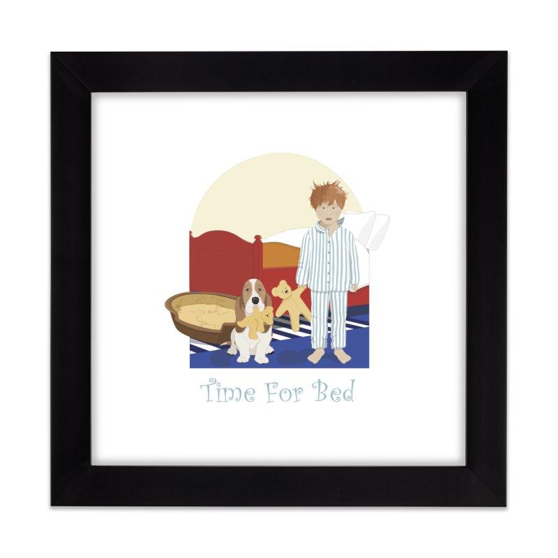 Time For Bed Home Framed Fine Art Print by grumpyteds's Artist Shop