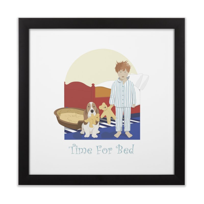 Time For Bed Home Framed Fine Art Print by grumpyteds's Artist Shop