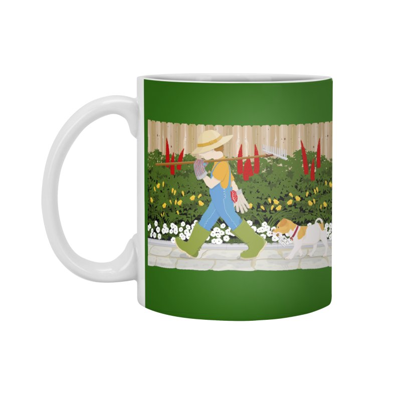 Junior Gardeners Accessories Mug by grumpyteds's Artist Shop