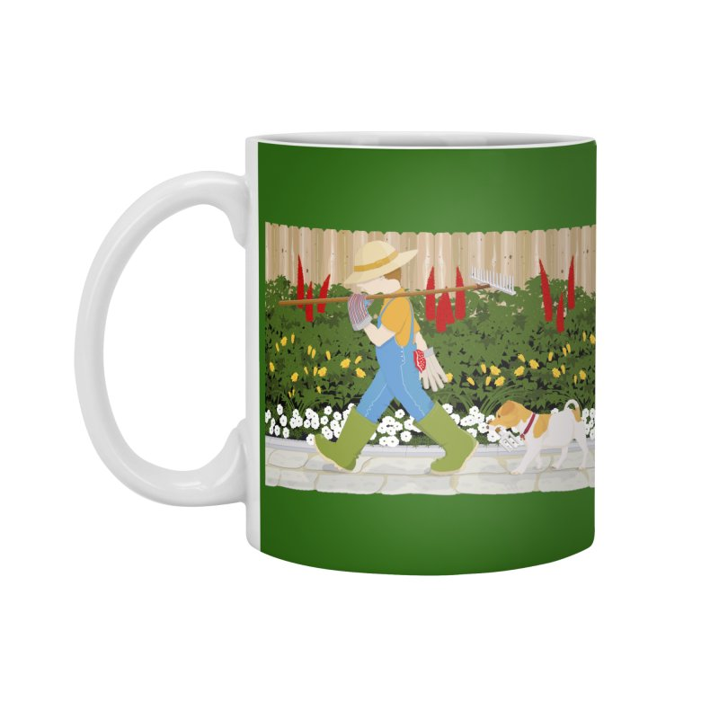 Junior Gardeners Accessories Standard Mug by grumpyteds's Artist Shop