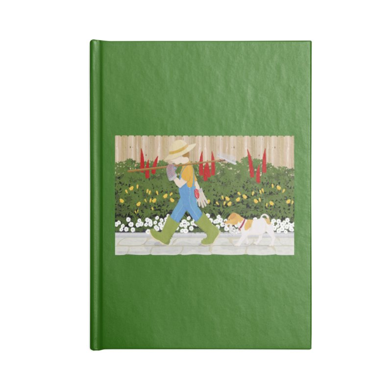 Junior Gardeners Accessories Blank Journal Notebook by grumpyteds's Artist Shop