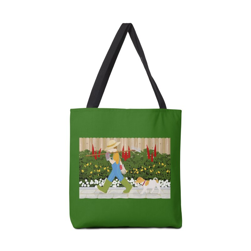 Junior Gardeners Accessories Tote Bag Bag by grumpyteds's Artist Shop
