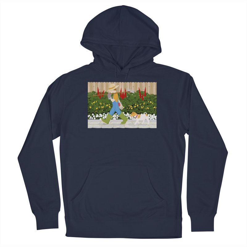Junior Gardeners Men's Pullover Hoody by grumpyteds's Artist Shop