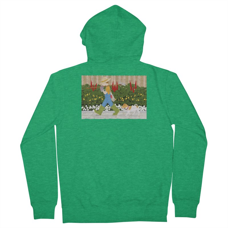 Junior Gardeners Men's Zip-Up Hoody by grumpyteds's Artist Shop