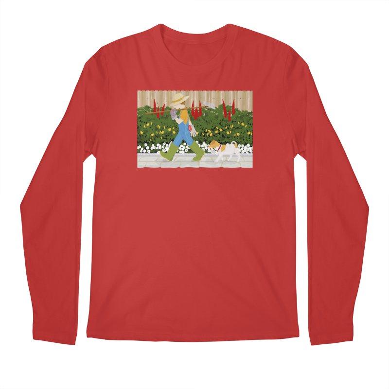 Junior Gardeners Men's Longsleeve T-Shirt by grumpyteds's Artist Shop