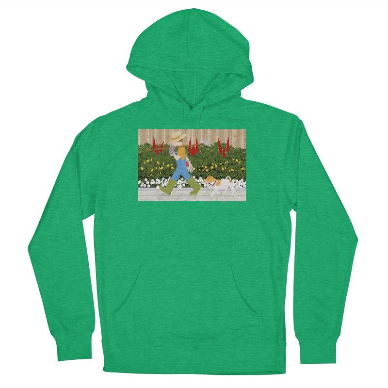 Junior Gardeners Women's French Terry Pullover Hoody by grumpyteds's Artist Shop