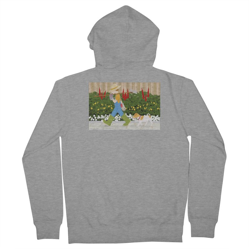 Junior Gardeners Men's French Terry Zip-Up Hoody by grumpyteds's Artist Shop
