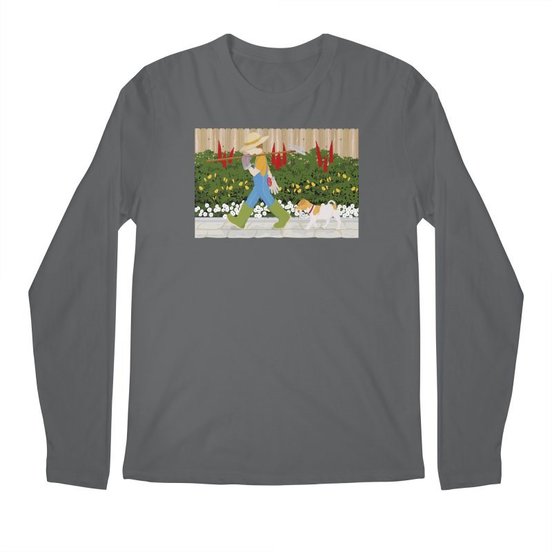 Junior Gardeners Men's Regular Longsleeve T-Shirt by grumpyteds's Artist Shop
