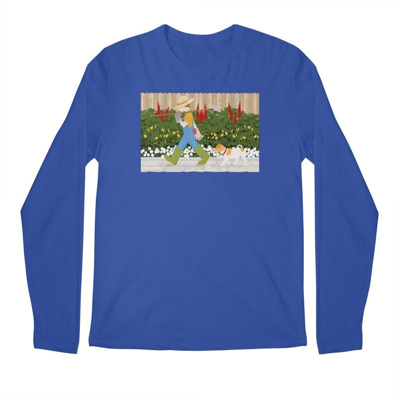 Junior Gardeners Men's Regular Longsleeve T-Shirt by grumpyteds's Artist Shop