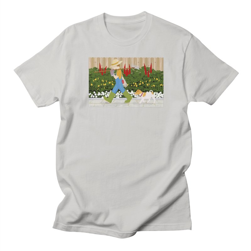 Junior Gardeners Men's Regular T-Shirt by grumpyteds's Artist Shop