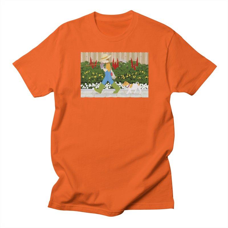 Junior Gardeners Men's Regular T-Shirt by grumpyteds's Artist Shop