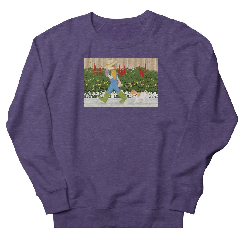 Junior Gardeners Women's French Terry Sweatshirt by grumpyteds's Artist Shop