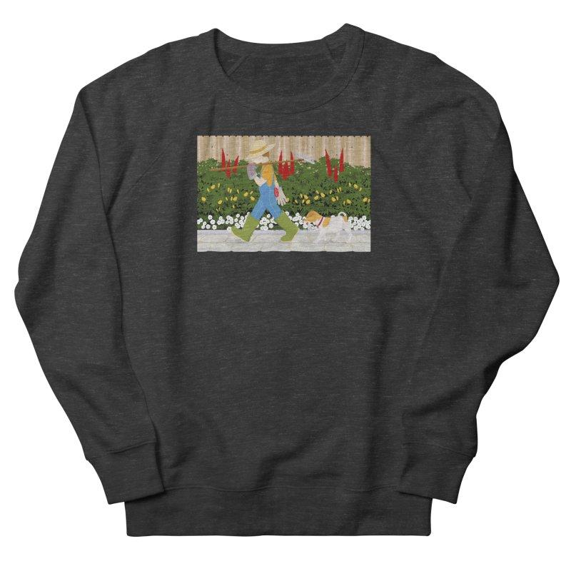 Junior Gardeners Men's French Terry Sweatshirt by grumpyteds's Artist Shop