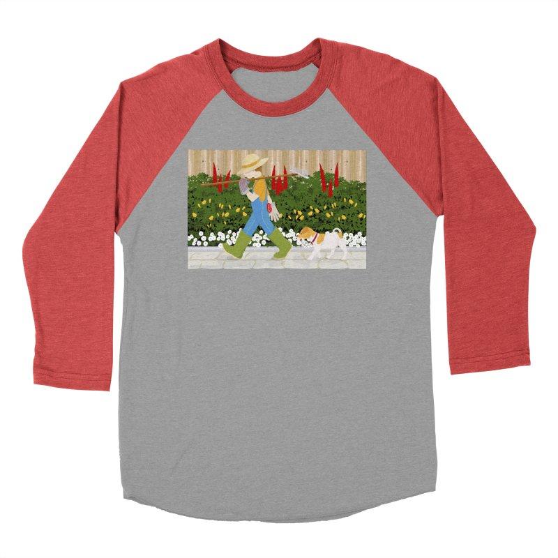 Junior Gardeners Men's Baseball Triblend Longsleeve T-Shirt by grumpyteds's Artist Shop