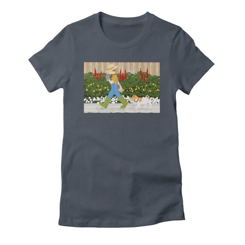 Junior Gardeners Women's T-Shirt by grumpyteds's Artist Shop