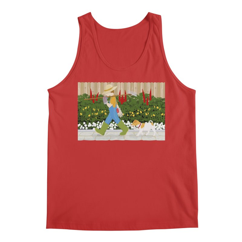 Junior Gardeners Men's Regular Tank by grumpyteds's Artist Shop