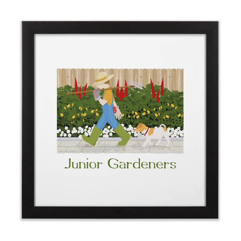 Junior Gardeners Home Framed Fine Art Print by grumpyteds's Artist Shop