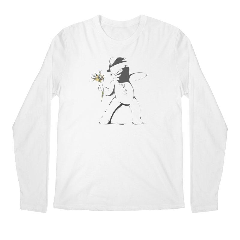 Graffiti Bear Men's Regular Longsleeve T-Shirt by grumpyteds's Artist Shop