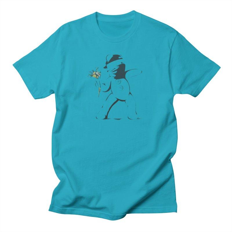 Graffiti Bear Women's Regular Unisex T-Shirt by grumpyteds's Artist Shop