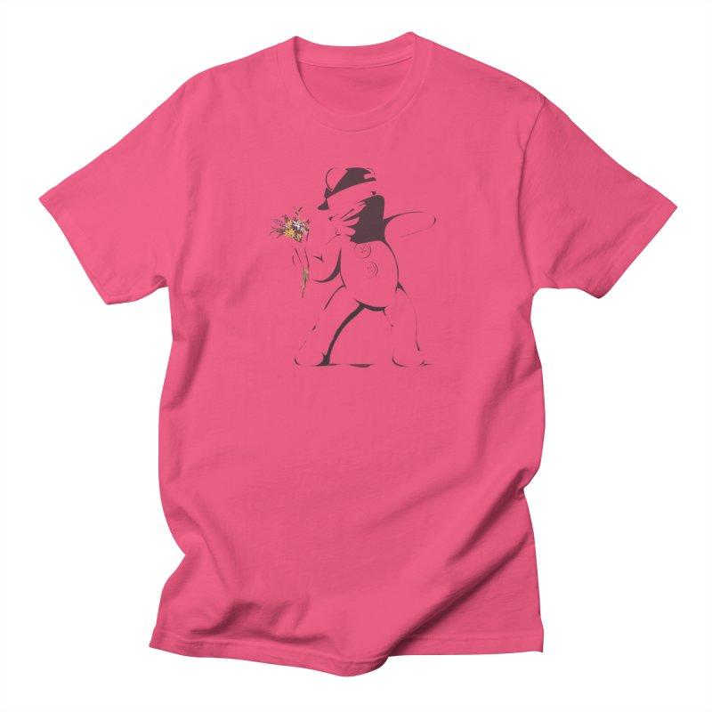 Graffiti Bear Men's T-Shirt by grumpyteds's Artist Shop