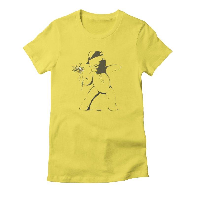 Graffiti Bear Women's T-Shirt by grumpyteds's Artist Shop