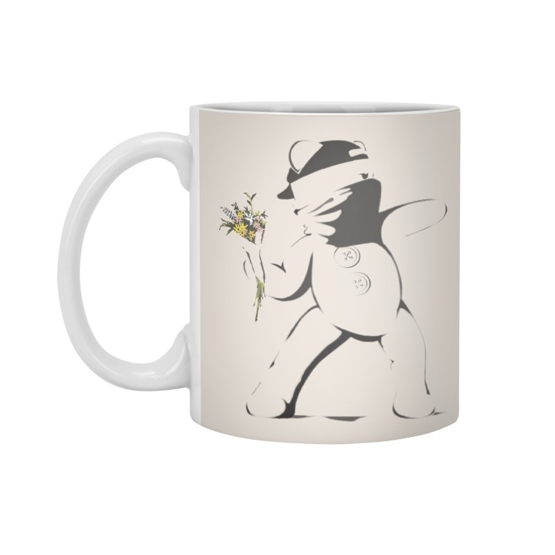Graffiti Bear Accessories Standard Mug by grumpyteds's Artist Shop