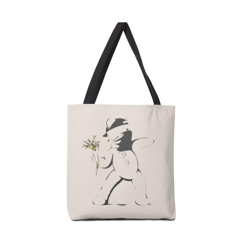 Graffiti Bear Accessories Bag by grumpyteds's Artist Shop