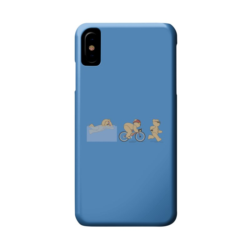 Triathlon Bear Accessories Phone Case by grumpyteds's Artist Shop