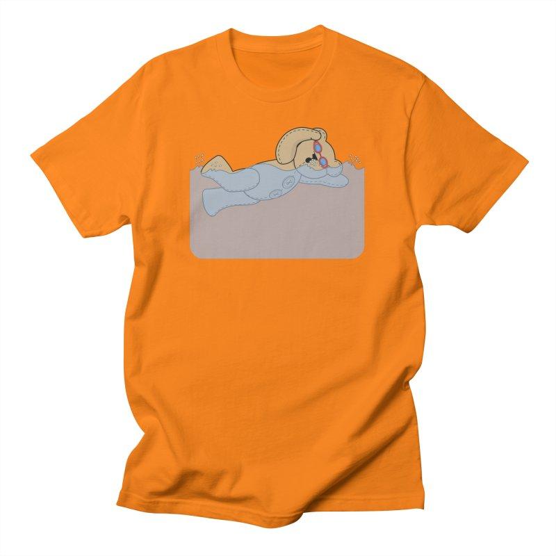 Swimming Bear Men's T-Shirt by grumpyteds's Artist Shop