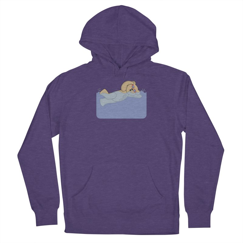 Swimming Bear Men's Pullover Hoody by grumpyteds's Artist Shop
