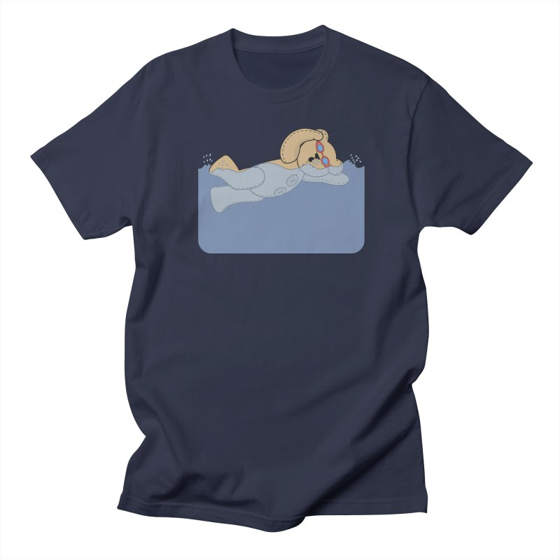Swimming Bear Men's Regular T-Shirt by grumpyteds's Artist Shop