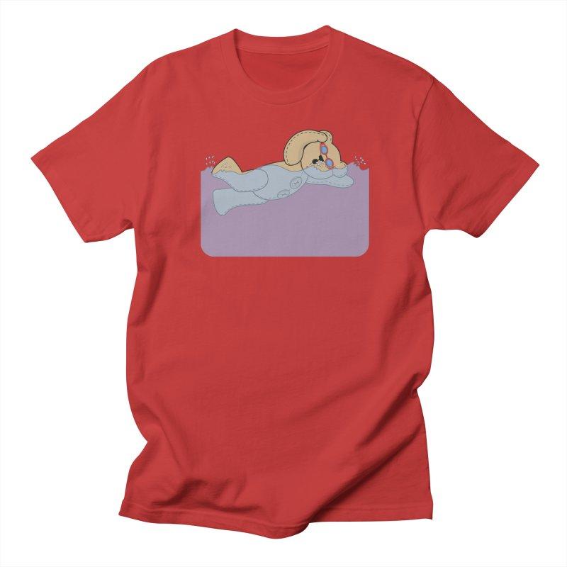 Swimming Bear Men's Regular T-Shirt by grumpyteds's Artist Shop