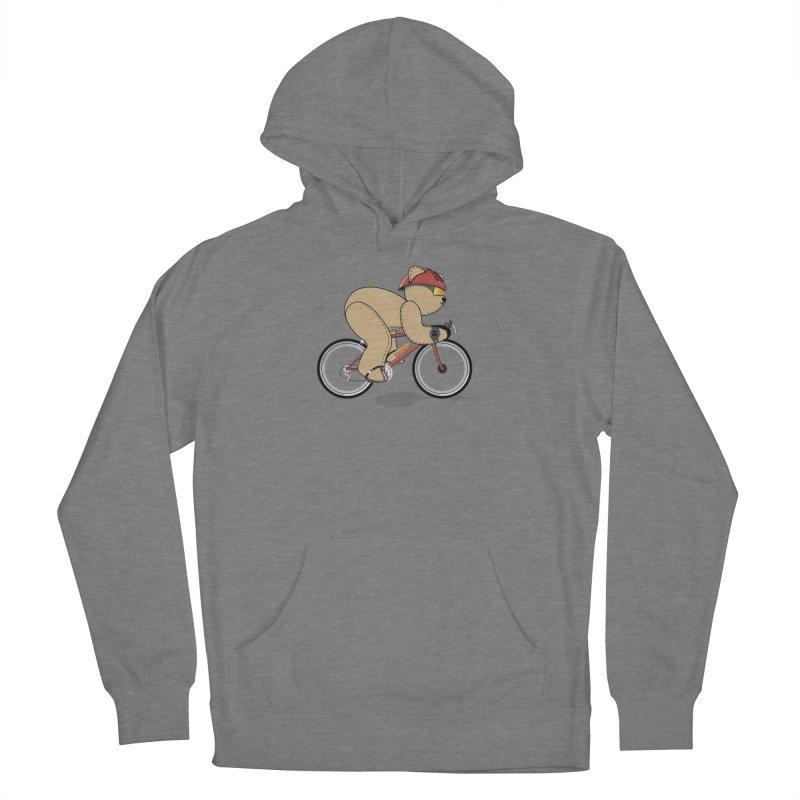 Cycling Bear Women's Pullover Hoody by grumpyteds's Artist Shop