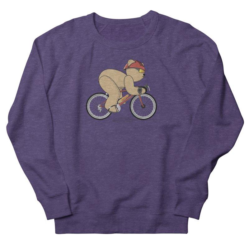 Cycling Bear Men's Sweatshirt by grumpyteds's Artist Shop