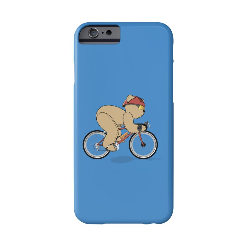 Cycling Bear Accessories Phone Case by grumpyteds's Artist Shop