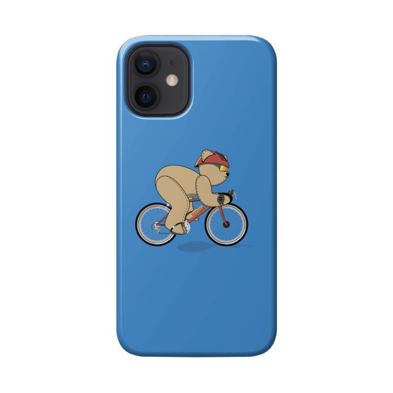 Cycling Bear Accessories Phone Case by grumpyteds's Artist Shop