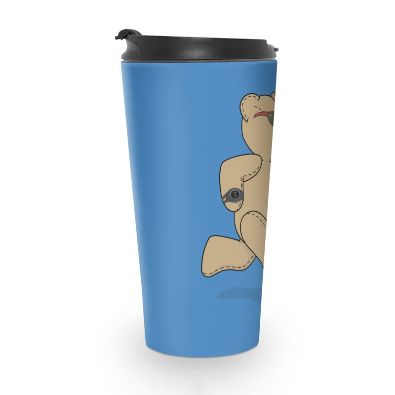 Running Bear Accessories Travel Mug by grumpyteds's Artist Shop