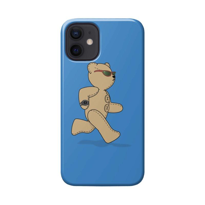 Running Bear Accessories Phone Case by grumpyteds's Artist Shop