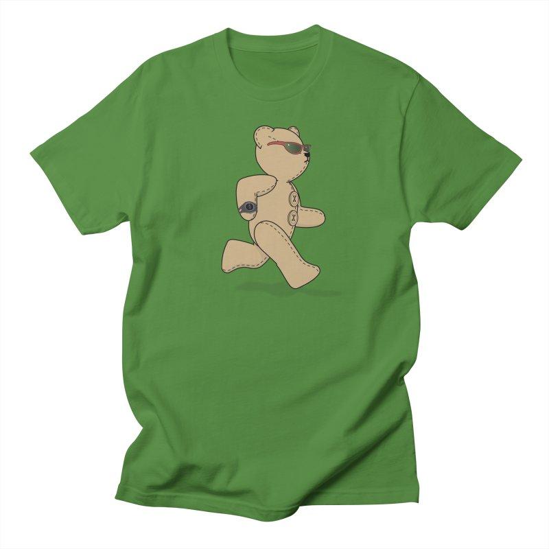 Running Bear Men's T-Shirt by grumpyteds's Artist Shop
