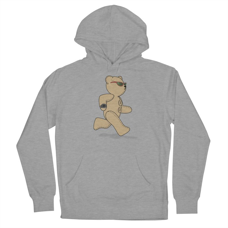 Running Bear Women's Pullover Hoody by grumpyteds's Artist Shop