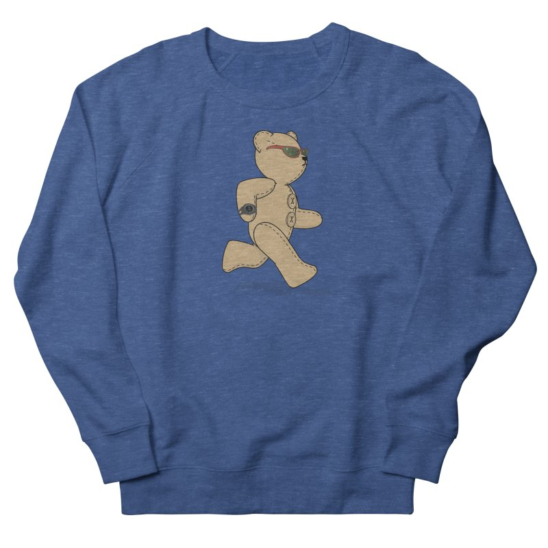 Running Bear Men's Sweatshirt by grumpyteds's Artist Shop