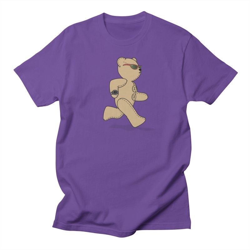 Running Bear Men's Regular T-Shirt by grumpyteds's Artist Shop