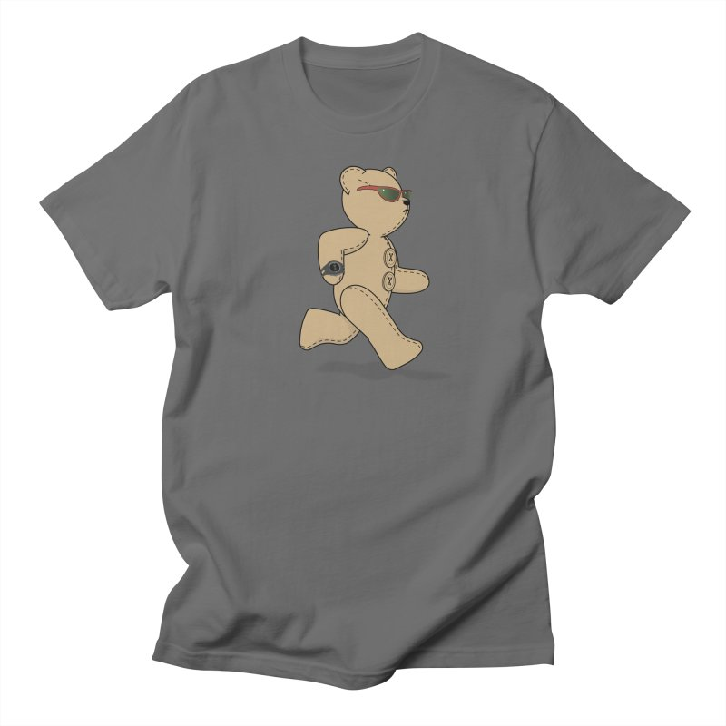 Running Bear Women's T-Shirt by grumpyteds's Artist Shop